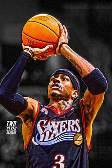 allen iverson iphone wallpaper new nba smartphone wallpapers two seven designs