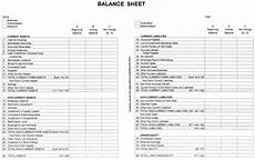 Balance Seet Agec 752 Developing A Balance Sheet 187 Osu Fact Sheets