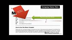 Photo Templates For Word How To Use Memo Template In Word 2007 Youtube