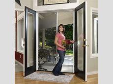 Standard Custom Double Door Retractable Screen