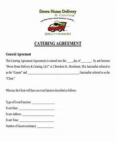 Catering Agreement Template Free 9 Sample Catering Contract Agreement Templates In Ms