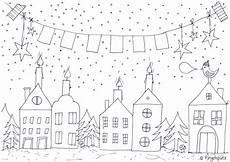 Malvorlage Weihnachten Fenster Pin Irina Potemkina Auf Advent 2016 17