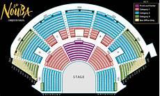 Cirque Orlando Seating Chart Cirque Du Soleil La Nouba At Downtown Disney