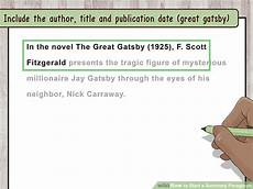 Summary Paragraphs How To Start A Summary Paragraph 10 Steps With Pictures