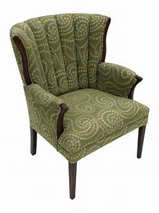 Wingback Sofa Slipcover Png Image by This Freshly Upholstered Chair With A Gorgeous Fanned Out