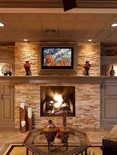 Decorate Fireplace Lighting Stone Fireplace With Ceiling Accent Lights Fireplace