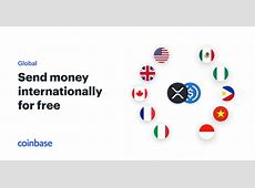 Send money internationally for free   Coinbase
