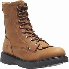 Wolverine Boots Width Chart Wolverine Men S Ingham 8 Quot Brown Leather Durashock Kiltie