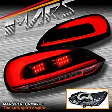 Volkswagen Scirocco Lights Red Smoked 3d Led Bar Lights With Led Indicators For