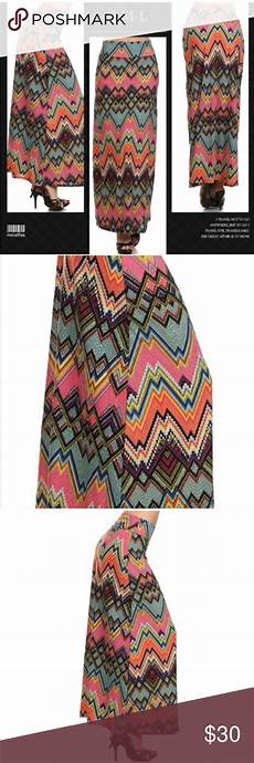 Aztec Design Skirts Aztec Print Fold Over Waist A Line Skirt Boutique
