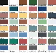 Wall Paint Chart Sadolin Superdec Colour Chart Paint Color Chart