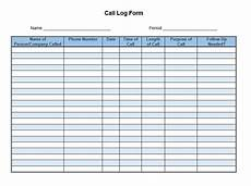 Sales Call List Template Sales Call List Templates 5 Free Templates