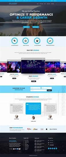 Institute Website Templates Free Download Educational Websites Psd Website Templates Free
