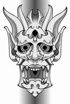 Demon Mask Designs Oni Mask By Funkt Green On Deviantart