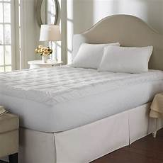 cuddle bed 400tc 2 5 inch cotton mattress topper in