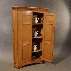antique pine corner cabinet cupboard larder antiques atlas