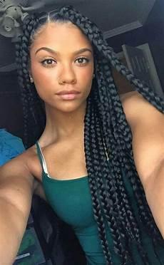 42 chunky cool jumbo box braids styles in every length