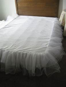 a comfy place of my own a tulle bedskirt
