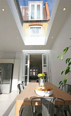 Extension Roof Lights Light Well Right Over French Doors And Then A Large Roof
