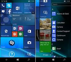Windows 10 Home Screen Android Needs These 5 Windows 10 Mobile Features Androidpit