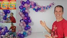 arco de globos como hacer un arco de globos arco organico de globos