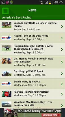 Equibase Results Charts Equibase Today S Racing Android Apps On Google Play