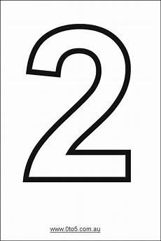 Take A Number Template Number 2 Printable Numbers Free Printable Numbers