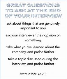 Questions To Ask In An Interviewee Best Questions To Ask At The End Of An Interview The