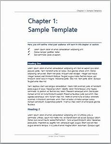 Ms Word User Manual Template User Manual Template Microsoft Word Templates