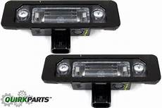 2013 Ford Focus License Plate Light Replacement Ford Mustang Taurus Flex Lincoln Rear License Plate Lamp