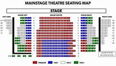 Asolo Seating Chart Seating Maps Phoenix Theatre