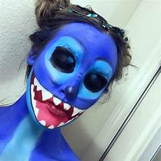 lilo stitch makeup halloweenmakeup bodypaint