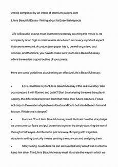 Essay Of Life Calam 233 O Life Is Beautiful Essay Writing About Its