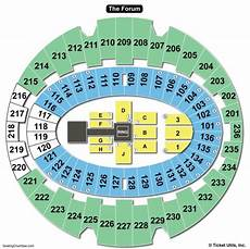 Forum Seating Chart The Forum Inglewood Seating Chart Seating Charts Amp Tickets