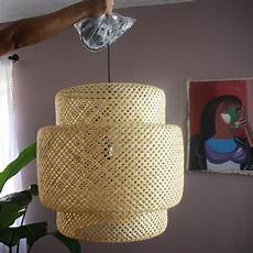 Ikea Woven Pendant Light Ikea Sinnerlig Gorgeous Bamboo Woven Pendant Lamp Bought