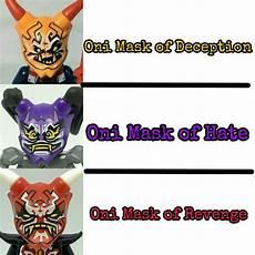 oni masks ninjago