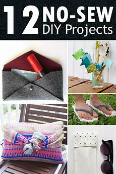 12 easy no sew diy projects