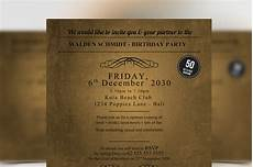 Golden Ticket Invitation Golden Ticket Birthday Invitation Flyer Templates On