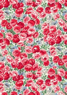 Cath Kidston Iphone Wallpaper by Festive Florals Pattern Print Pattern Wallpaper