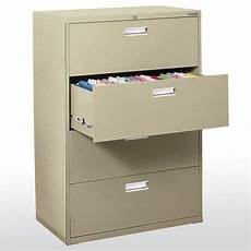 sandusky 600 series 36 in w 4 drawer lateral file cabinet