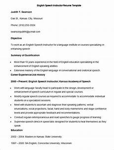 Resume English Template 51 Teacher Resume Templates Free Sample Example Format