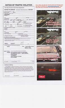 Red Light Ticket Settlement Red Light Traffic Camera Ticket Posted Via Email From