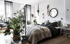 vera stanza di hanging plants screen in front of bed relaxing bedroom