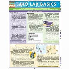 Bio Chart Bio Lab Basics Study Chart 3 00