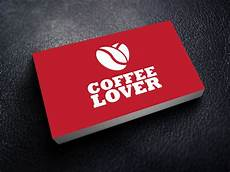 Advertising Agency Visiting Card Design Business Card Design For Coffee Company Advertising Agency