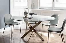 tavolo contemporaneo tavoli rotondi per la casa una soluzione per ogni ambiente