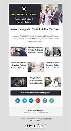 Templates For Mailers 10 Best Insurance Email Templates Insurance Agencies