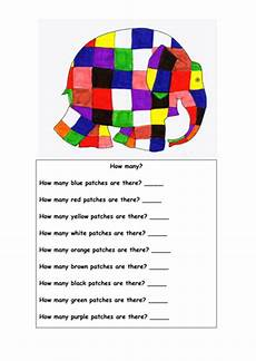 Elmer The Elephant Teaching Resources By