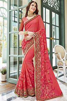 All Over Saree Design Latest Stylish Trends Of Party Wear Saree Designs 2018