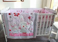 7pc crib infant room baby bedroom set nursery bedding
